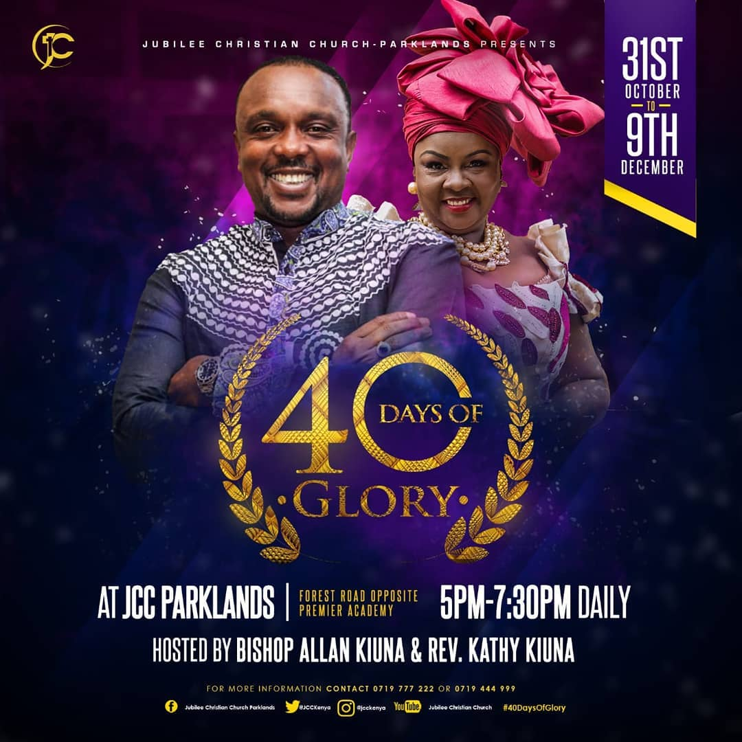 40 DAYS OF GLORY 2018