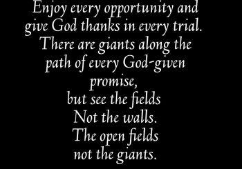 Opportunities.