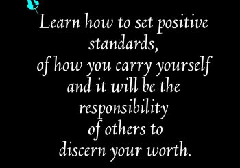 Positive Standards.