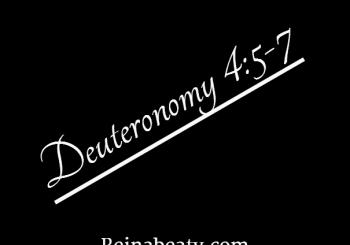 Deuteronomy 4:5-7 Positive Impact.