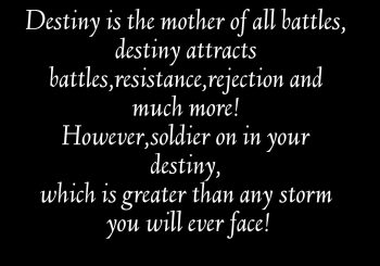Your Destiny Is Great