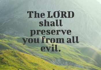 The Lord Is your Keeper