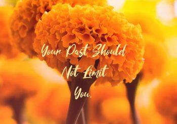 Your Past Should Not Limit You.